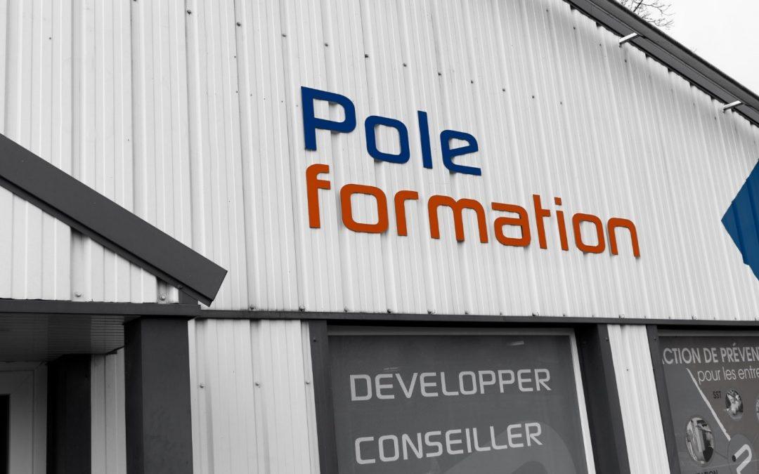 Pole Formation déménage!