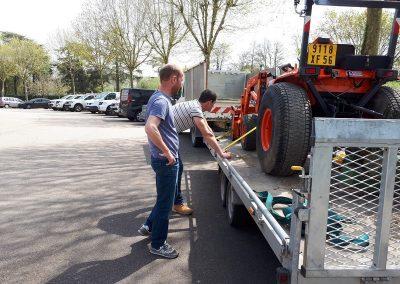 Arrimage mini-tracteur (2)