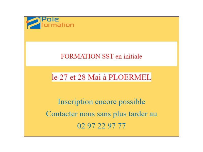 Formation SST initiale : places disponibles !